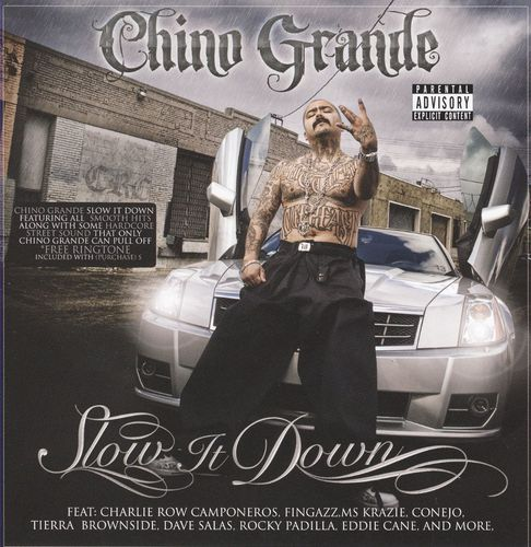 "CHINO GRANDE ""SLOW IT DOWN"" (USED CD)"