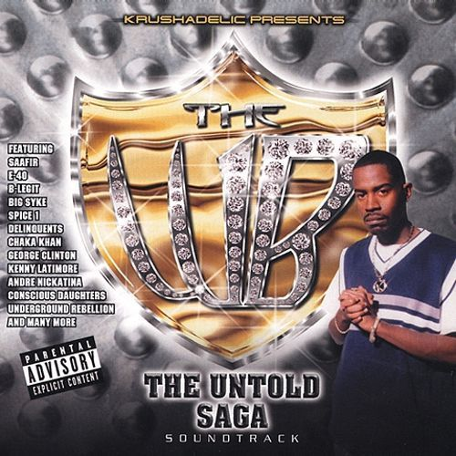 "KRUSHADELIC PRESENTS THE WB ""THE UNTOLD SAGA"" (NEW CD)"