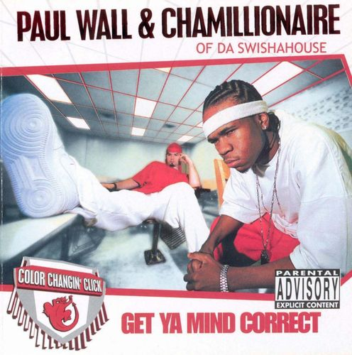 "PAUL WALL & CHAMILLIONAIRE ""GET YA MIND CORRECT"" (USED CD)"