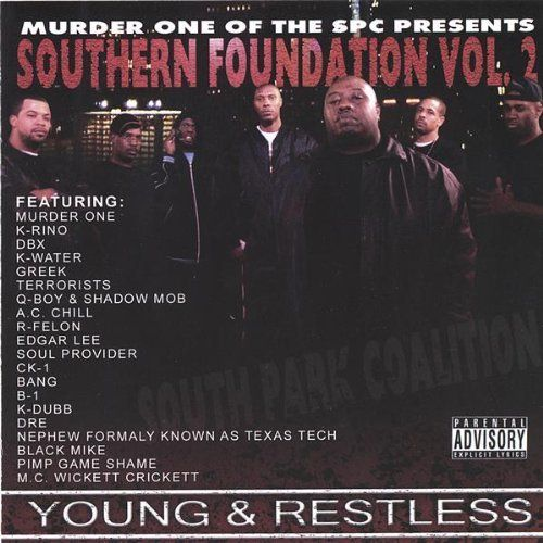 "MURDER ONE (SPC) ""SOUTHERN FOUNDATION VOL. 2"" (NEW CD)"