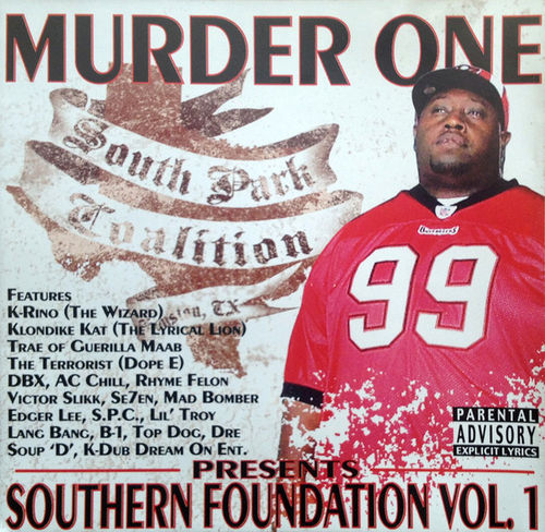 "MURDER ONE ""SOUTHERN FOUNDATION VOL. 1"" (NEW CD)"