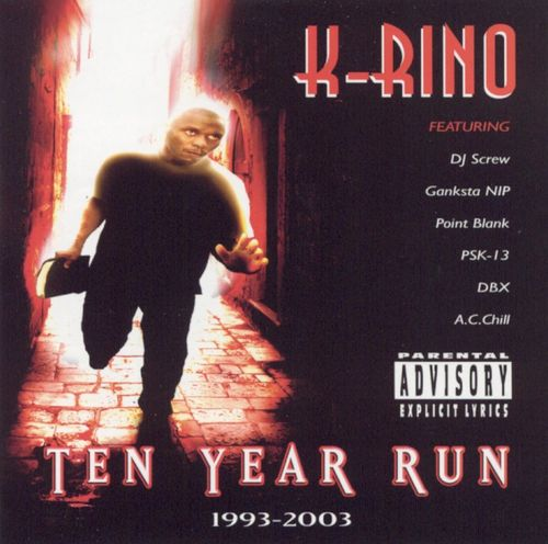 "K-RINO ""TEN YEAR RUN"" (USED CD)"