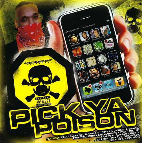 "POINT BLANK ""PICK YA POISON"" (NEW CD)"