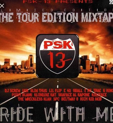 "PSK-13 ""RIDE WITH ME"" (NEW 2-CD)"