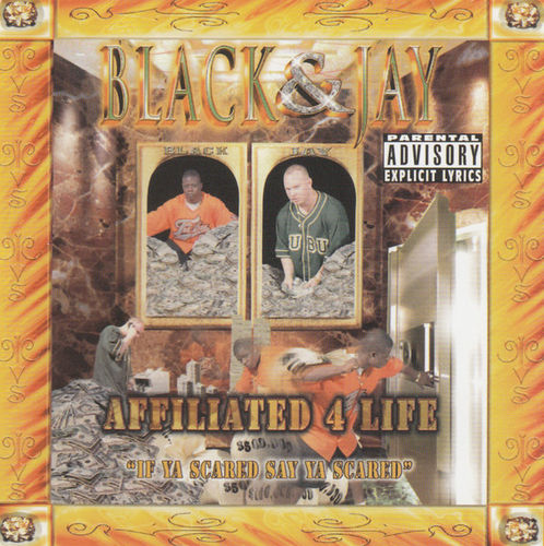 "BLACK & JAY ""AFFILIATED 4 LIFE"" (USED CD)"
