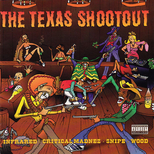 "VARIOUS ""THE TEXAS SHOOTOUT"" (USED CD)"