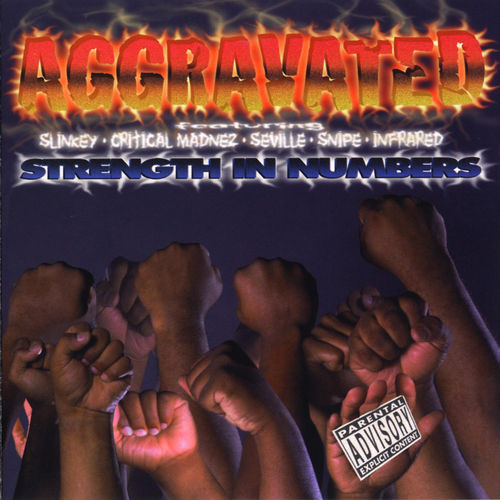 "AGGRAVATED ""STRENGTH IN NUMBERS"" (USED CD)"