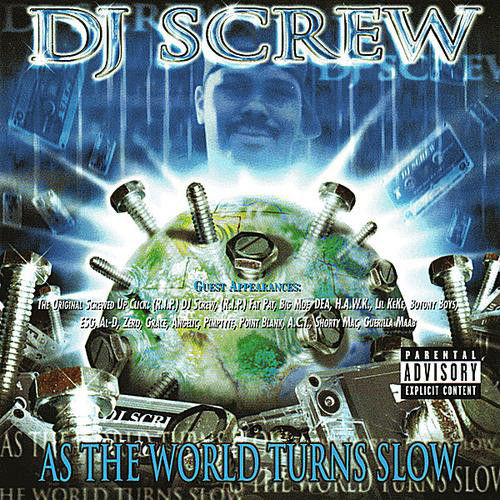 "DJ SCREW ""AS THE WORLD TURNS SLOW"" (USED CD)"
