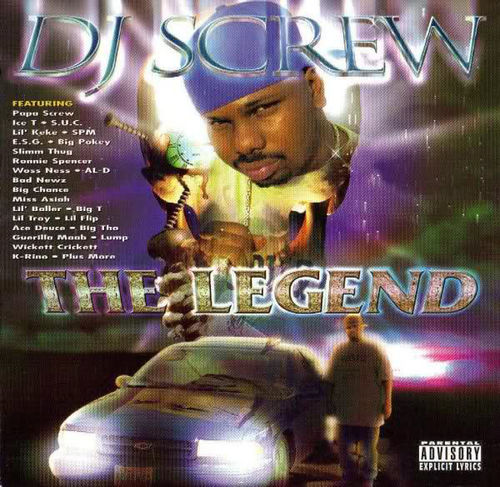 "DJ SCREW ""THE LEGEND"" (USED 2-CD)"