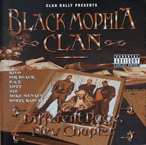"BLACK MOPHIA CLAN ""DIFFERENT PAGE, NEW CHAPTER"" (USED CD)"