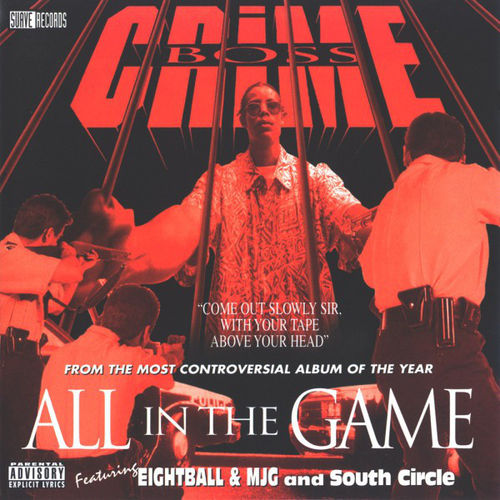 "CRIME BOSS ""ALL IN THE GAME"" (USED CD)"
