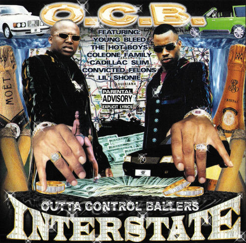 "O.C.B. (OUTTA CONTROL BALLERS) ""INTERSTATE"" (USED CD)"