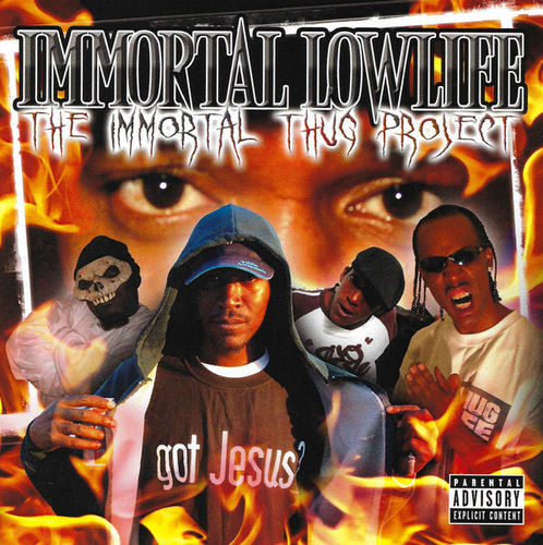 "IMMORTAL LOWLIFE ""THE IMMORTAL THUG PROJECT"" (NEW CD)"