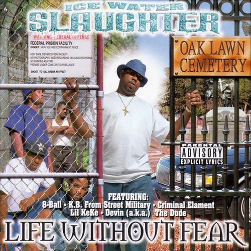 "ICE WATER SLAUGHTER ""LIFE WITHOUT FEAR"" (USED CD)"