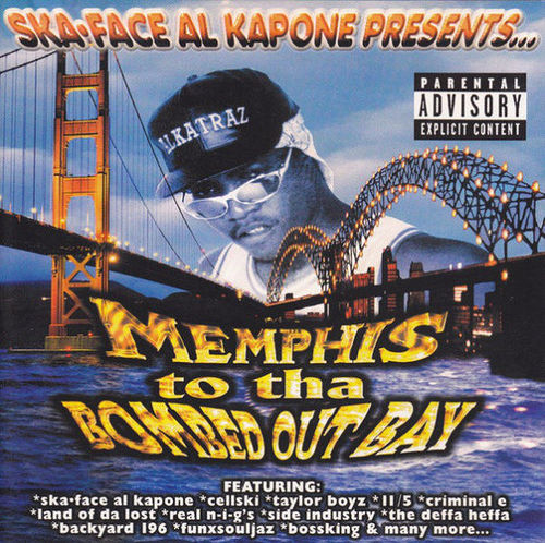 "SKA-FACE AL KAPONE PRESENTS ""MEMPHIS TO THE BOMBED OUT BAY"" (USED CD)"