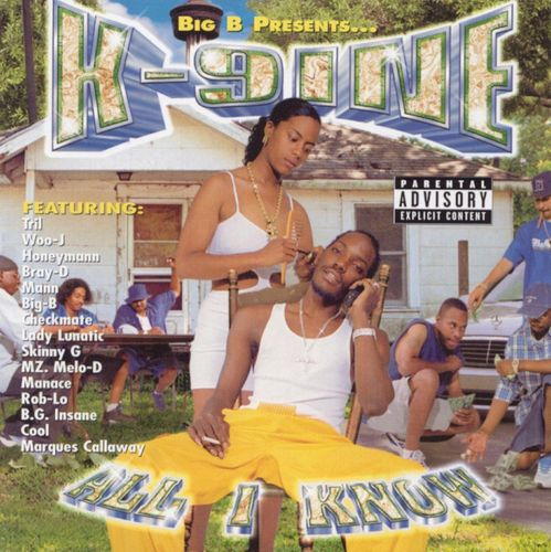 "K-9INE ""ALL I KNOW"" (USED CD)"