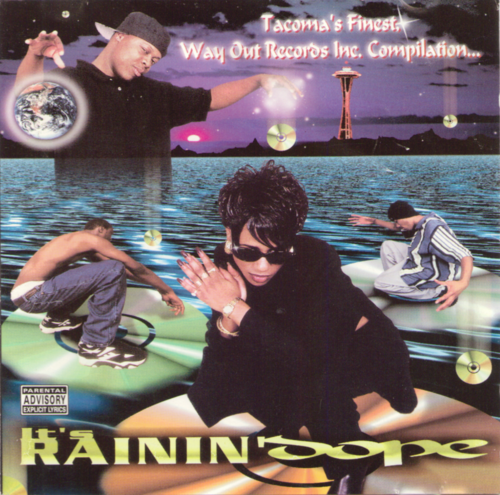 "WAY OUT RECORDS INC. COMPILATION ""IT'S RAININ' DOPE"" (USED CD)"