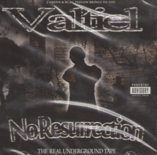 "VALTIEL ""NO RESURRECTION"" (NEW CD)"