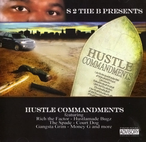 "S2THEB PRESENTS ""HUSTLE COMMANDMENTS"" (USED CD)"