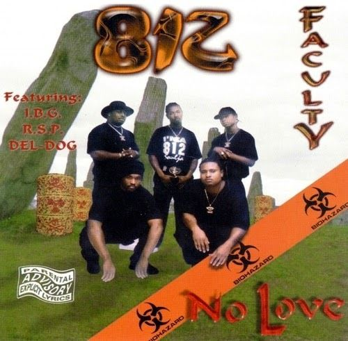 "812 FACULTY ""NO LOVE"" (USED CD)"