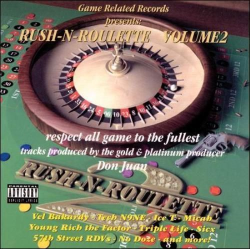 "GAME RELATED RECORDS ""RUSH-N-ROULETTE VOLUME 2"" (NEW CD)"