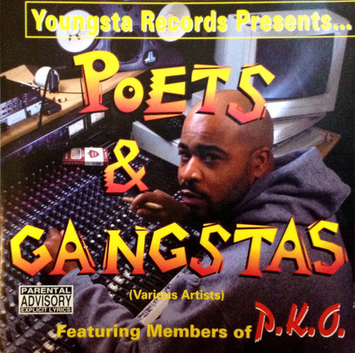 "YOUNGSTA RECORDS PRESENTS ""POETS & GANGSTAS"" (USED CD)"