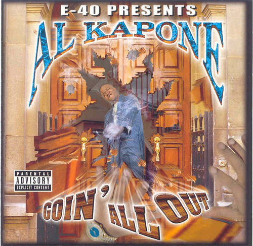 "AL KAPONE ""GOIN' ALL OUT"" (USED CD)"
