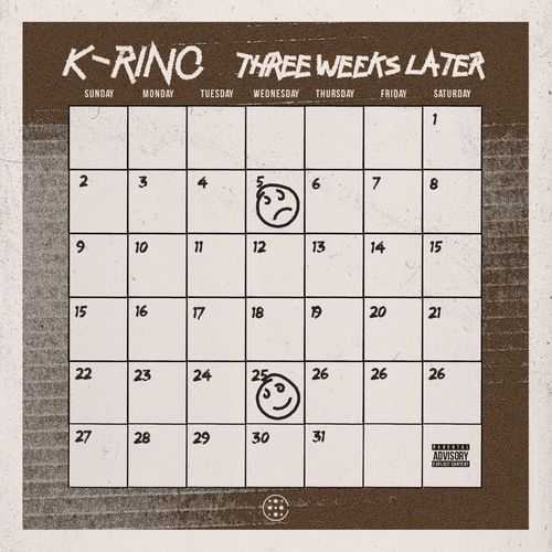 "K-RINO ""THREE WEEKS LATER"" (NEW CD)"