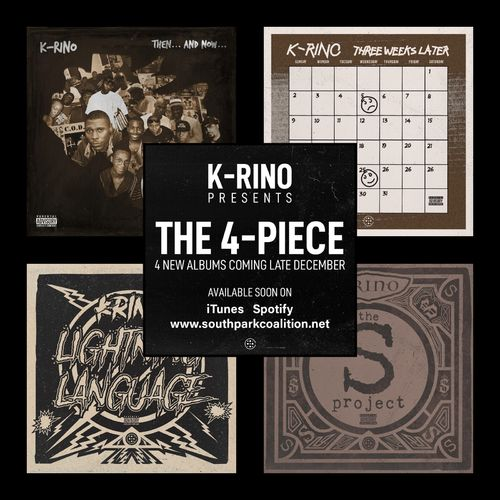 "K-RINO PRESENTS ""THE 4-PIECE"" (4-CD PACKAGE DEAL)"