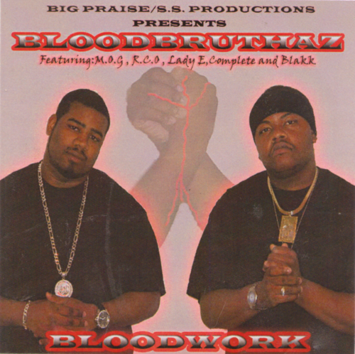 "BLOODBRUTHAZ ""BLOODWORK"" (USED CD)"