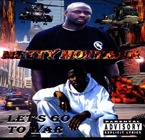 "MEETY MONTANA ""LET'S GO TO WAR"" (USED CD)"