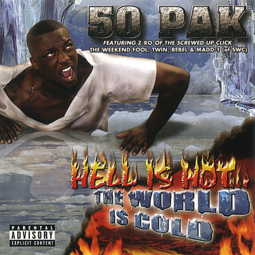 "50 PAK ""HELL IS HOT...THE WORLD IS COLD"" (USED CD)"