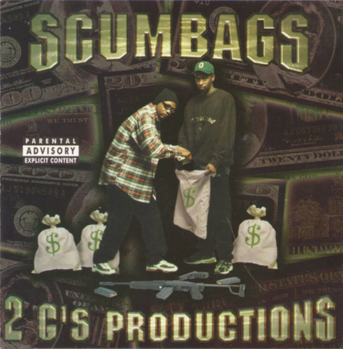 "SCUMBAGS ""2 G'S PRODUCTIONS PRESENTS..."" (USED CD)"
