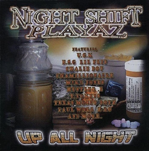 "NIGHT SHIFT PLAYAZ ""UP ALL NIGHT"" (USED CD)"