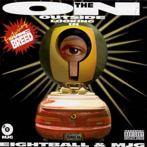 "EIGHTBALL & MJG ""ON THE OUTSIDE LOOKING IN"" (USED CD)"