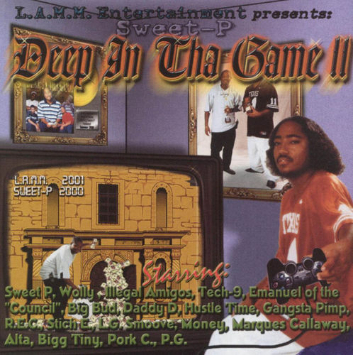 "SWEET-P ""DEEP IN THA GAME II"" (USED CD)"
