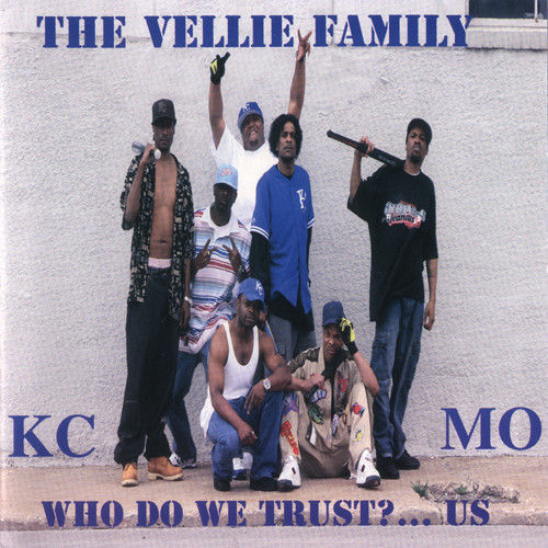 "THE VELLIE FAMILY ""WHO DO WE TRUST?...US"" (USED CD)"