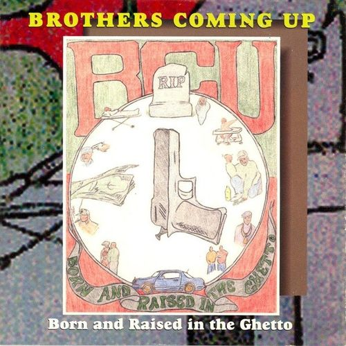 "BROTHERS COMING UP ""BORN AND RAISED IN THE GHETTO"" (USED CD)"