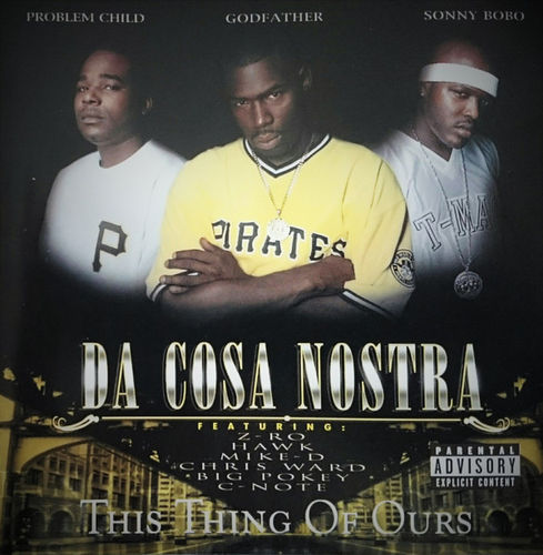 "DA COSA NOSTRA ""THIS THING OF OURS"" (USED CD)"
