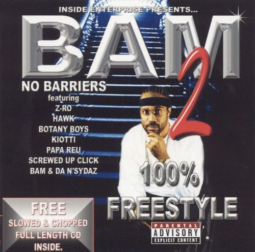 "BAM ""100% FREESTYLE 2: NO BARRIERS"" (USED 2-CD)"