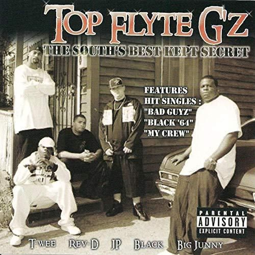 "TOP FLYTE G'Z ""THE SOUTH'S BEST KEPT SECRET"" (NEW CD)"