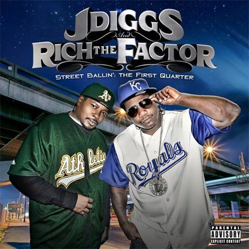 "J-DIGGS & RICH THE FACTOR ""STREET BALLIN': VOL. 1"" (USED CD)"