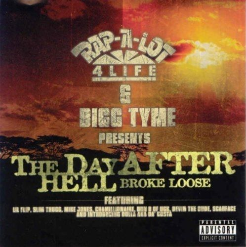 "RAP-A-LOT 4 LIFE & BIGG TYME ""THE DAY AFTER HELL BROKE LOOSE"" (USED CD)"