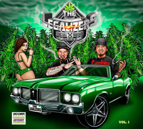 "PAUL WALL & BABY BASH ""THE LEGALIZERS VOL. 1"" (NEW CD)"