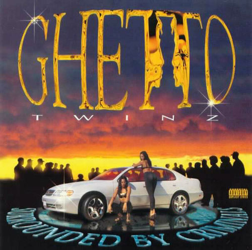 "GHETTO TWINZ ""SURROUNDED BY CRIMINALS"" (NEW CD)"