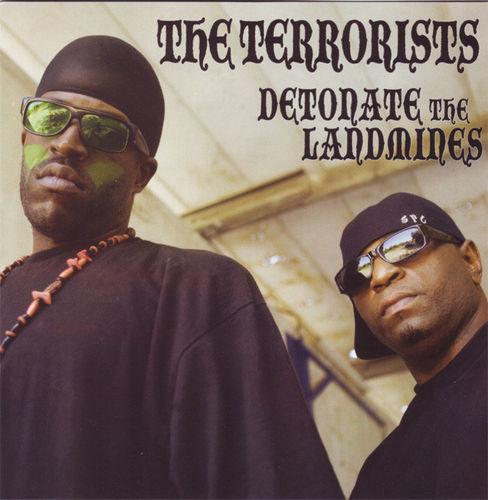 "THE TERRORISTS ""DETONATE THE LANDMINES"" (NEW CD)"