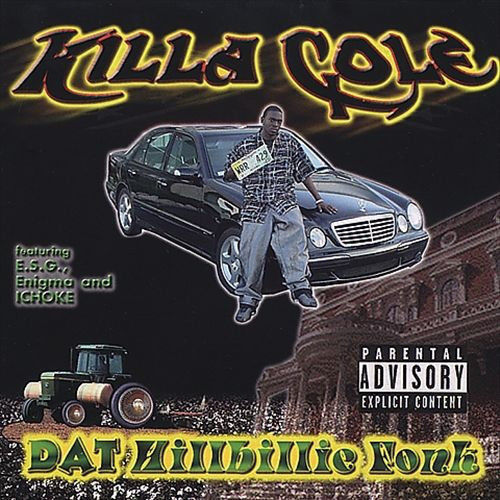 "KILLA COLE ""DAT KILLBILLIE FONK"" (USED CD)"