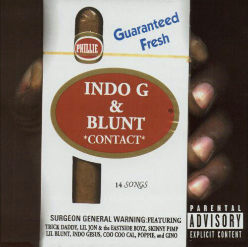 "INDO G & BLUNT ""CONTACT"" (NEW CD)"