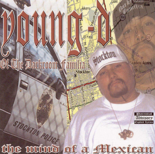 "YOUNG-D ""THE MIND OF A MEXICAN"" (USED CD)"