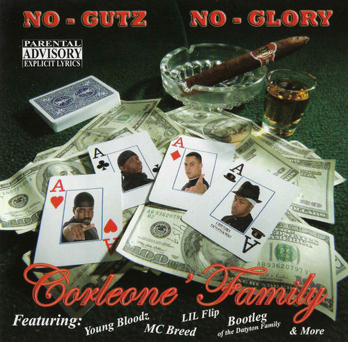 "CORLEONE FAMILY ""NO GUTZ NO GLORY"" (USED CD)"